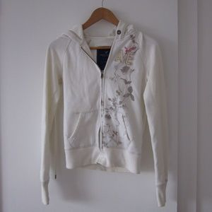 American Eagle Outfitters - Cream Hoodie